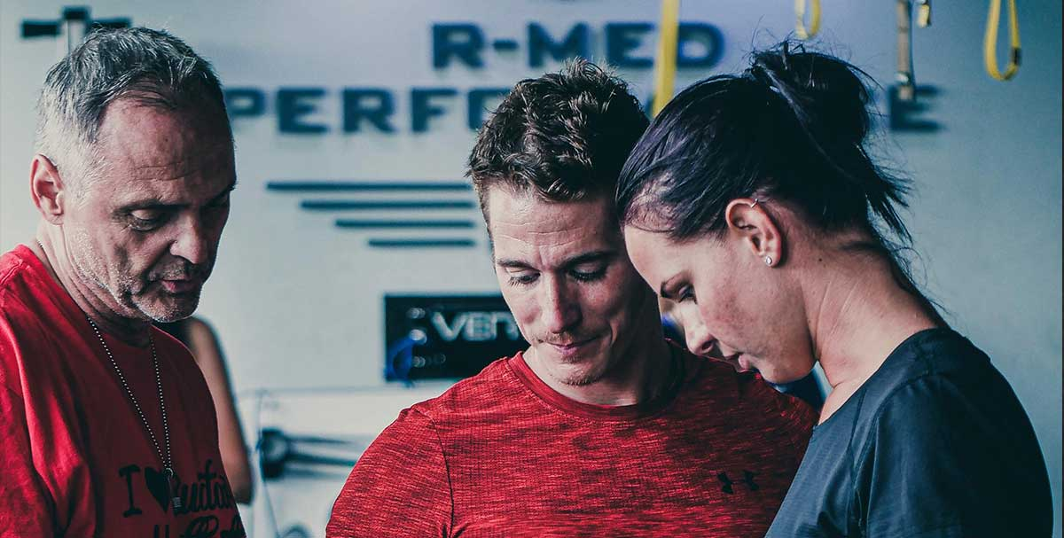 r-med members reaxing training method